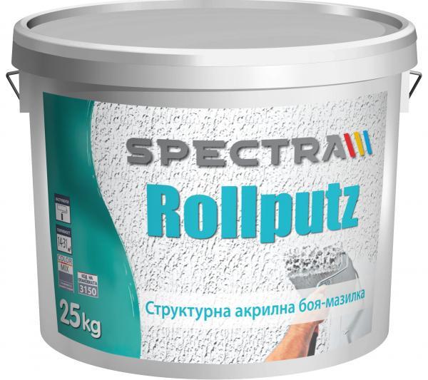 Структурна мазилка Spectra Rollputz 25 кг