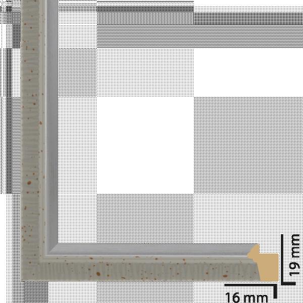 Рамка ПВЦ 10х15 см бяло