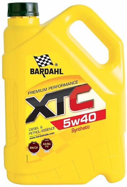 Двигателно масло BARDAHL XTC 5W40 5л
