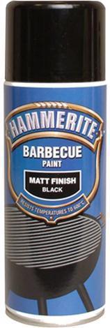 Спрей Hammerite за барбекю 0.4л, черен мат