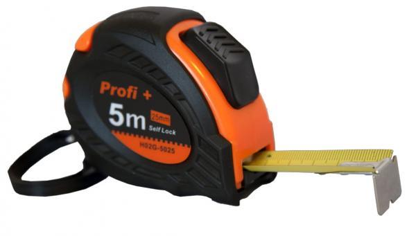 Ролетка 5м /25мм Profi Plus