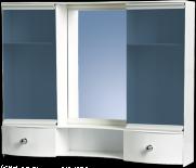 Малък шкаф огледален 2 врати