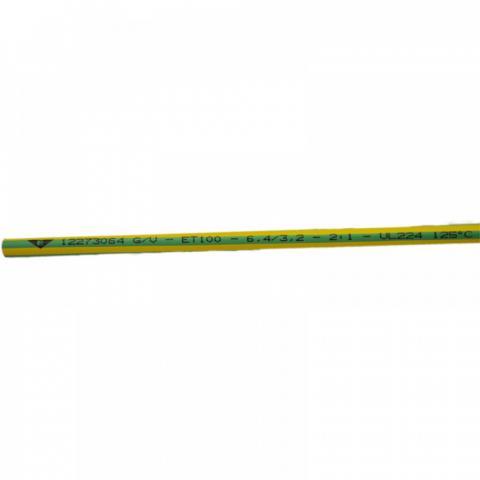 Термосвиваем шлаух 6.4/3.2 жълто-зелен Elematic