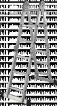 Стълба алуминиева сгъваема мултифункционална 4x3