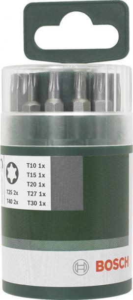 Комплект битове Bosch  10 бр. 25mm