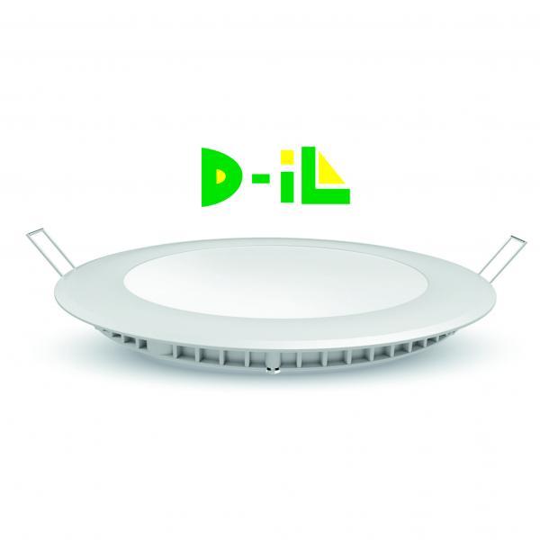 LED панел 12W 4200K  850Lm кръг/ за вгр./