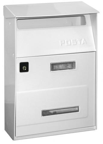 Пощенска кутия POSTA бяла