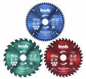 Комплект циркулярни дискове Ф190мм 3бр KWB