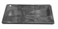 Табла емайлирана черна 90x60 см