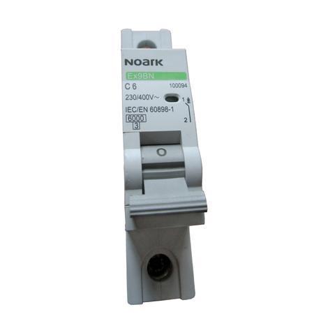 Автоматичен прекъсвач 1P 6A NOARK