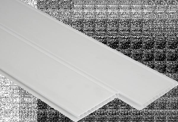 PVC панели Ретро бяло 10см