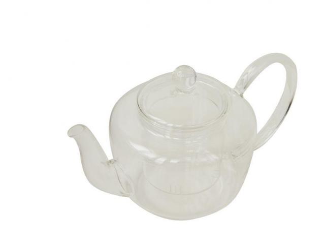 Стъклен чайник, 500 мл.