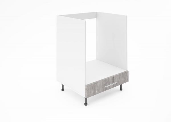 Крафт D8 долен шкаф за фурна 60см, златен дъб