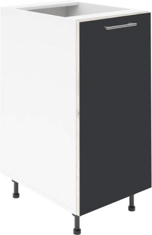 Крафт D1 долен шкаф с една врата 55см, антрацит