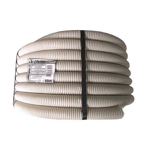 Тръба гофрирана PVC Ф32/24,5мм 25м 320N