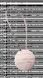 Магнит за перде 87, бял