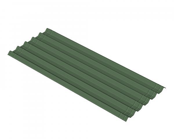 Ондулин EasyFix, зелен - битумен лист