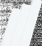 Ламперия PVC 25 см х 2.7 м Бяла