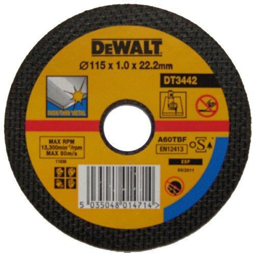 Диск метал/инокс DT3442 115мм