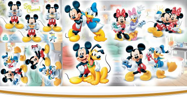 Стикер за стена Mickey Mouse 35ь50 см