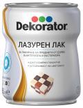 Лазурен лак Decorator 0.65л, безцветен