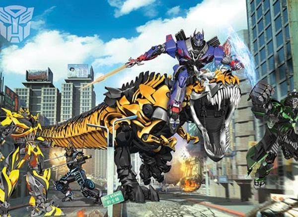 Фототапет  Transformers: Age of Extinction 304 х 243 см