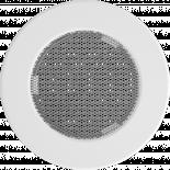 Решетка кръгла Ф100 бяла