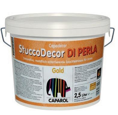 Декоративна шпакловка Stucco DI PERLA 2.5л, злато