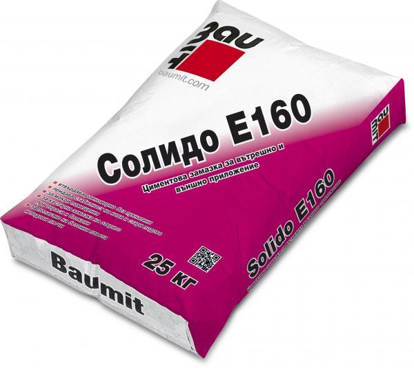 Циментова смес Баумит Солидо Е160 25 кг