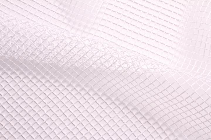 Перде PLATE, 295 см, бяло