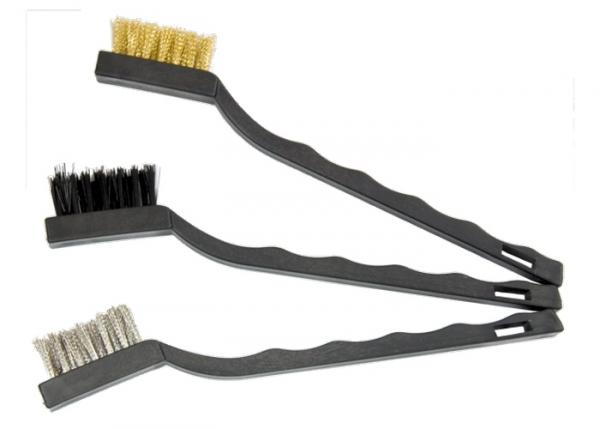 Комплект четки телени пластмасови дръжки малки MTX 3 бр.