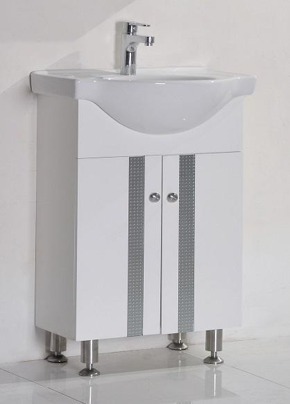 PVC шкаф за баня 60 см