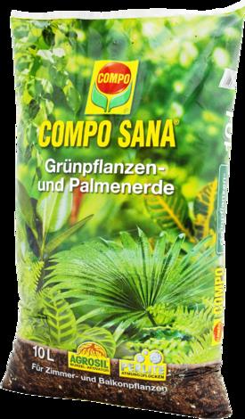 Почва за декоративни растения и палми COMPO SANA® 10 л