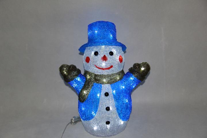 Снежен човек 50 LED IN