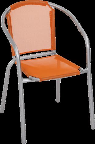 Промостол оранжев, текстилен