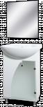 PVC мебел за баня Гала