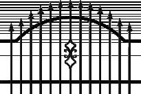 Оградно пано Venus 120х180 см