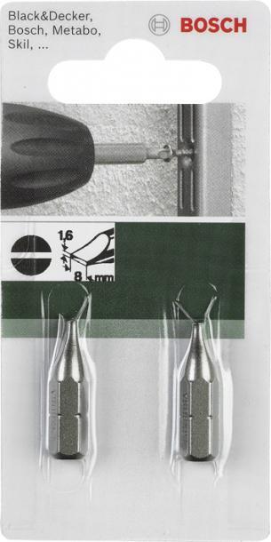 Бит Bosch LS1.6х8.0 25мм