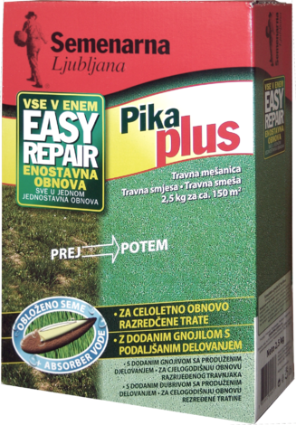 PIKA PLUS Тревна смеска 2.5кг