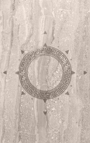 Декоративна фаянсова плочка Olimpia Meandre 25x40 см