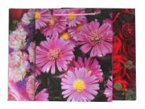 Плик за подаръци Цветя 28х34х9 см