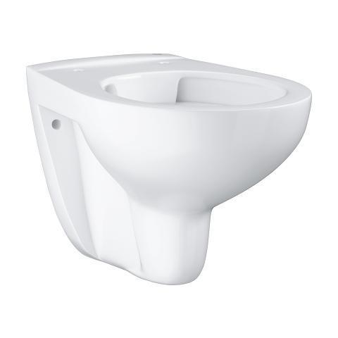 Конзолна тоалетна чиния GROHE BAU CERAMIC RIMLESS Технология