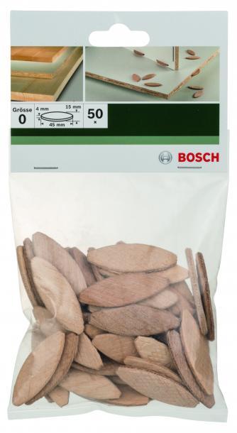 Плоски дюбели Bosch 50 БР.
