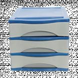 ПВЦ-Шкафче с три чекмеджета