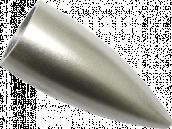 Накрайник Патрон мат.сребро