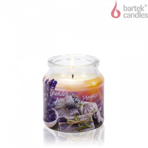 Свещ буркан Lavender fields & soap 2