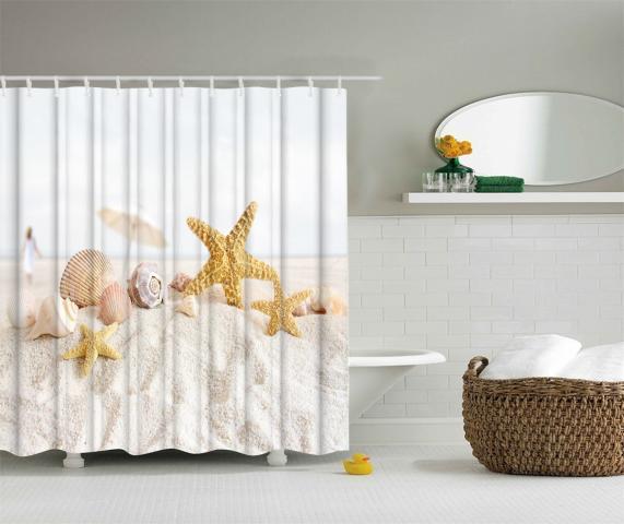 Завеса за баня 180х200 3D