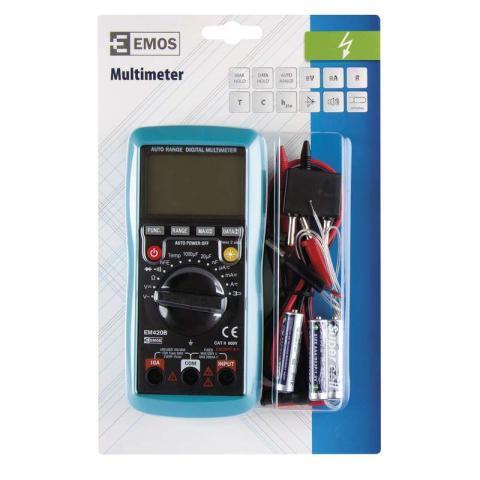 Мултиметър EM420B EMOS 600V 2