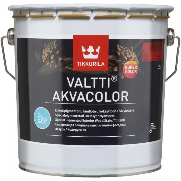 Масло за дърво VALTTI AKVACOLOR EP 2.7л