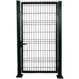 Единична врата дясно отваряне RAL 6005 150х100 см